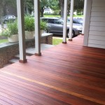 Iron Wood Deck