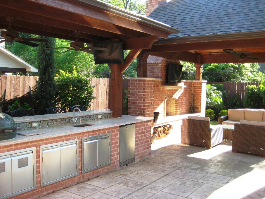 Wooden Outdoor Kitchens ~ Outdoor kitchens wood crafters