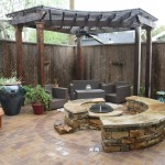 Custom Arbor and Firepit