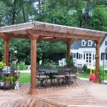 Rustic Arbor and Deck