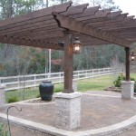 Belgard Pavers and Pergola