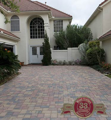 example image of driveway pavers
